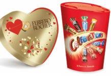 Ferrero Rocher and Celebrations packs