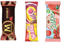 Collection of ice creams