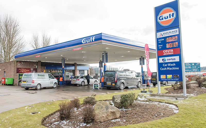 Nugent said Gulf has achieved 100% Costa coffee, lottery and PayPoint coverage.