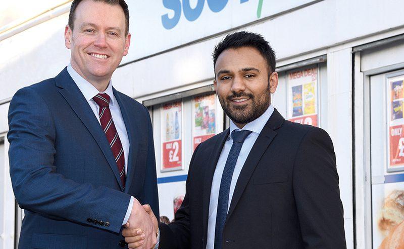 Scotfresh MD Mark Steven and chairman Shaun Marwaha.