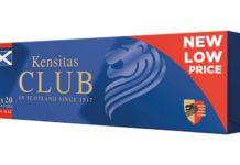 Kensitas Club cigarettes