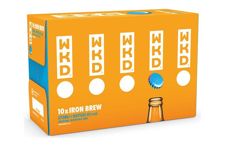 WKD Iron Brew 10 pack