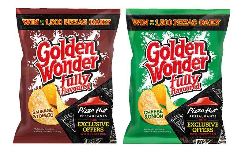 Golden Wonder packs