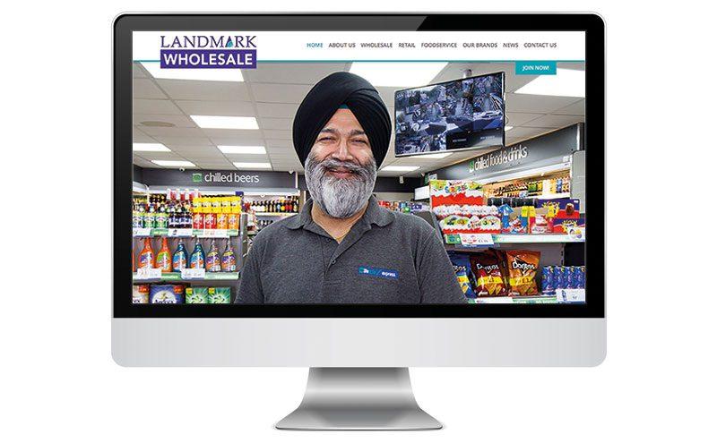 Landmark Wholesale Website