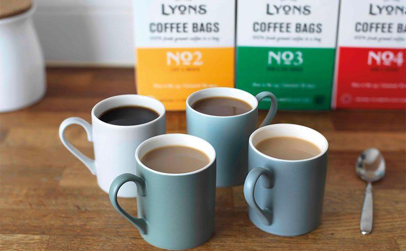 Lyons Coffee selection