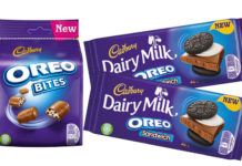The latest NPD from Mondelez sees the chocolate giant bring its Cadbury and Oreo brands together again in two new formats.