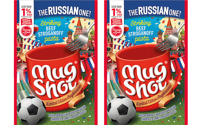 Mug Shot World Cup special flavours