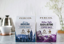 Percol reckons coffee bags provide consumers with a convenient quality coffee.