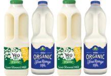 Yeo Semi Skimmed and organic 2l