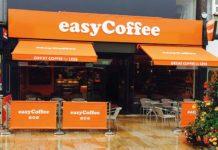 easyCoffee Burnley shop