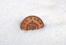 Penny in sugar