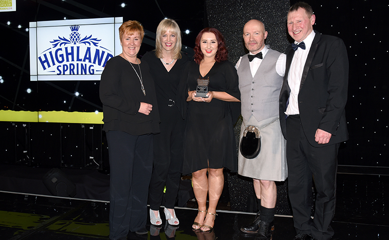 Health Promoting Retailer of the Year, supported by Highland Spring Broadway Convenience Store, Edinburgh