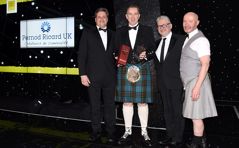 Industry Achievement Award, supported by Pernod Ricard UK John Brodie