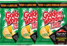 Golden Wonder promotional pack