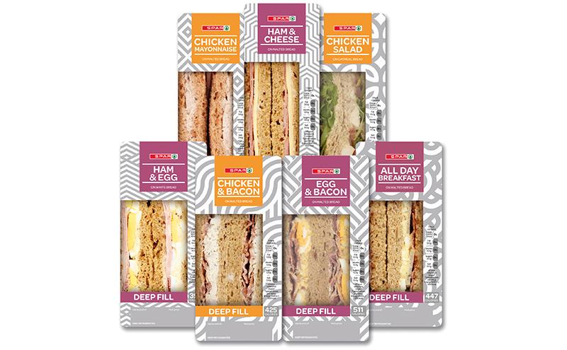 Spar sandwiches