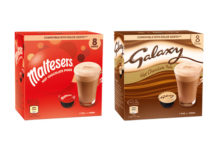Malteser and Galaxy drink pods