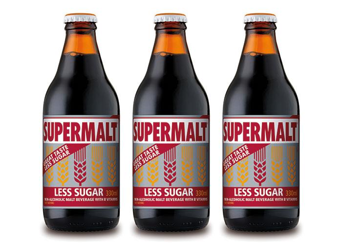 Supermalt less sugar