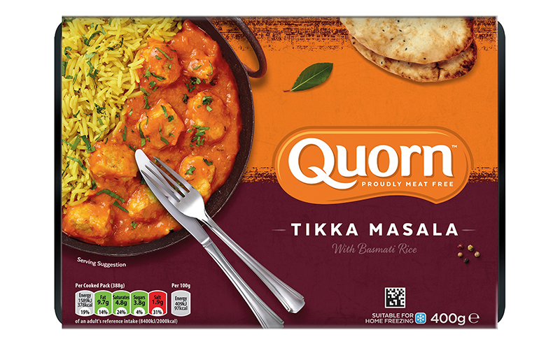 Quorn tikka masala