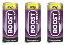 Boost cans