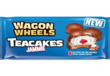 Wagon wheel teacakes