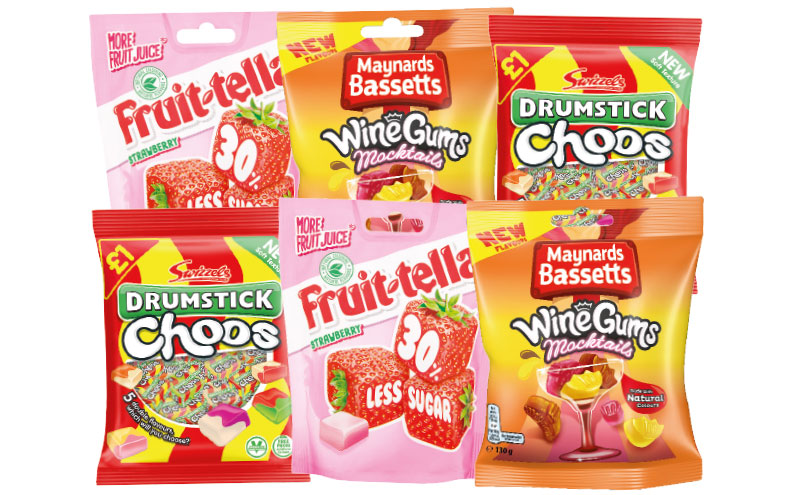 Bags of sweets