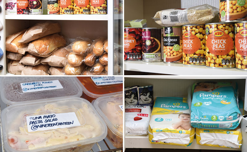 C-store retailer Rekz Afzal started his community fridge and cabinet service in late 2017. The service runs on donations from local businesses, charities and residents.