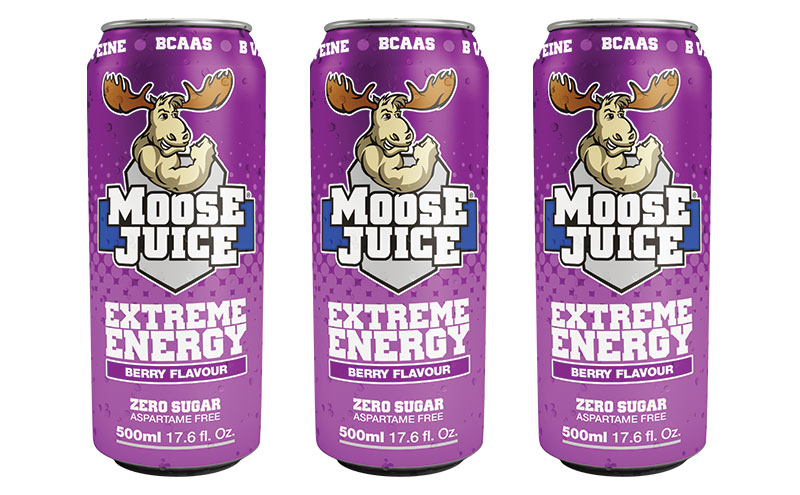 Moose Juice Berry can
