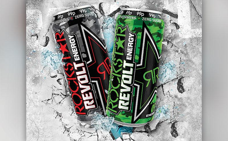 Rockstar Revolt cans