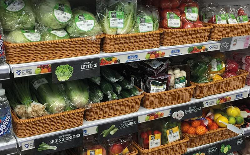 Nisa vegetables