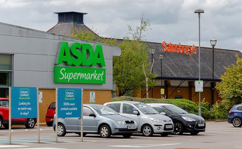 Asda and Sainsburys