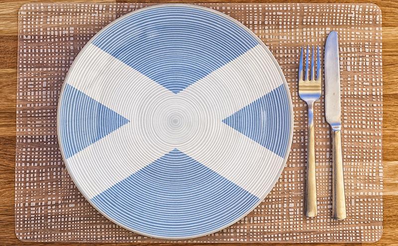 Scottish plate