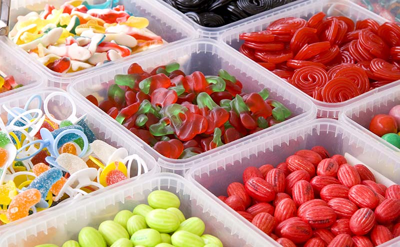 Boxes of confectionery