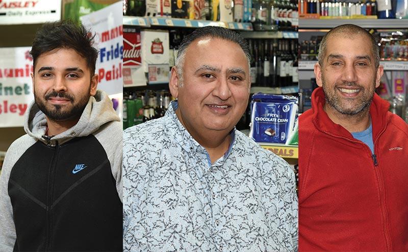 Three retailers