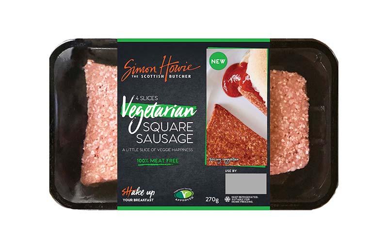 Vegetarian Square Sausage