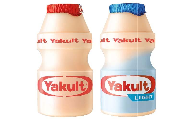 Yakult in bottles