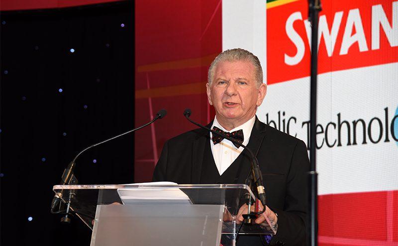 Industry Achievement Award winner Eddie Lynagh.