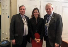 Victoria Atkins with the NFRN.