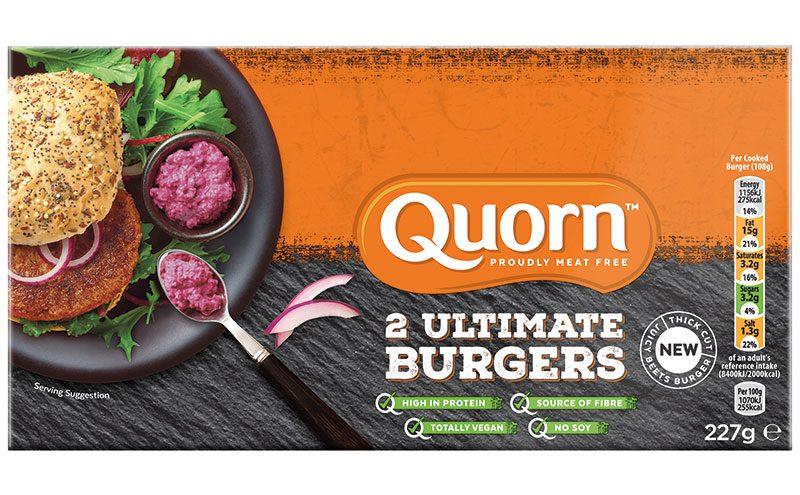 Quorn burger