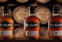 Balblair bottles