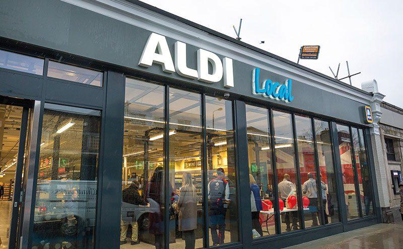 Aldi Local store