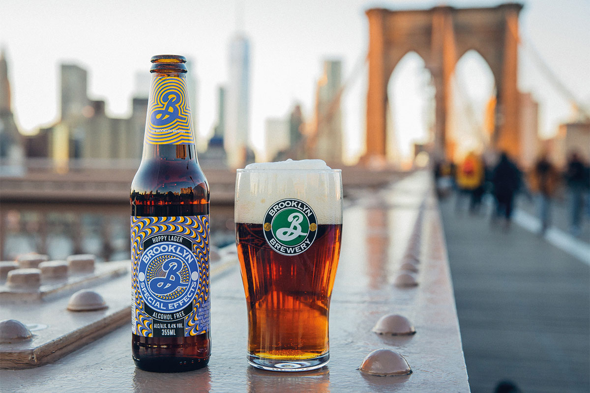 Brooklyn Special Effects low alcohol beer
