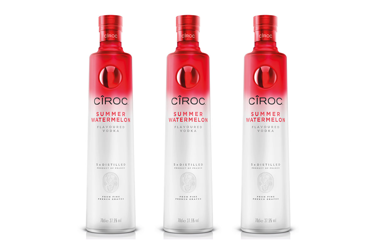 Ciroc has launched a new Summer Watermelon flavoured spirit