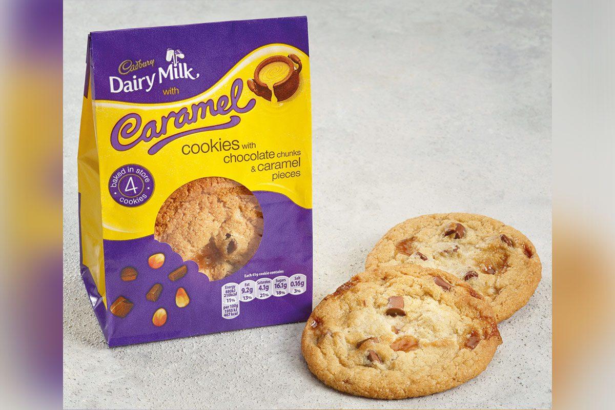 Cadbury Dairy Milk Caramel Cookie