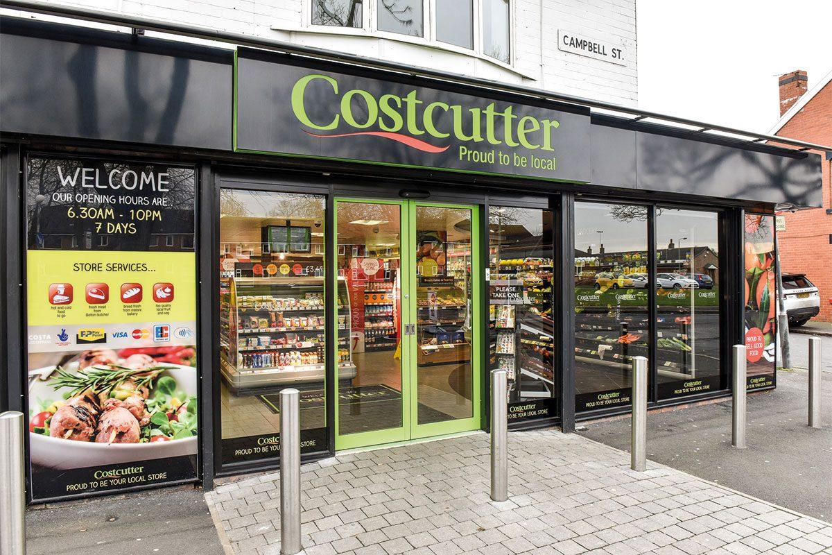 Costcutter shop exterior