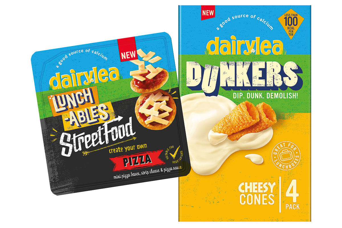 Dairylea Dunkers cheesy cones