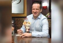 David Equi eating ice cream