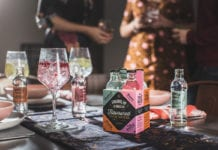 Franklin & Sons new four packs comprise 4x200ml bottles in Rosemary Tonic Water with Black Olive, Pink Grapefruit Tonic Water with Bergamot, Rhubarb Tonic Water with Hibiscus, and Elderflower Tonic water with Cucumber flavours.