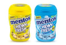 Mentos Chewy and Fresh range