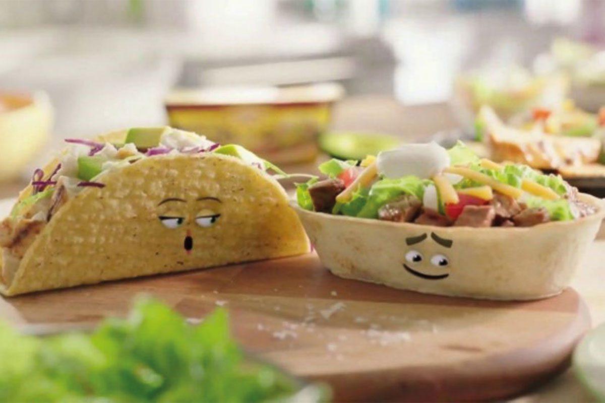 Old El Paso talking tacos