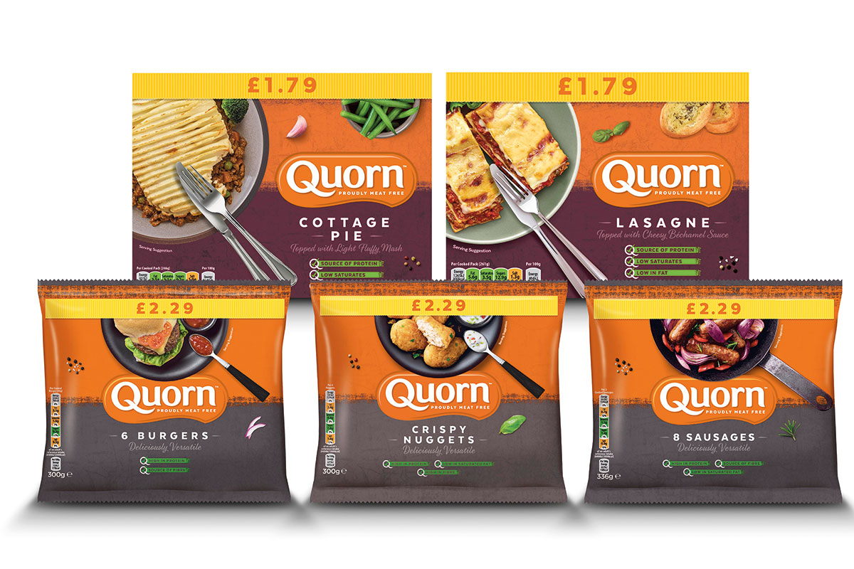 Quorn convenience core range